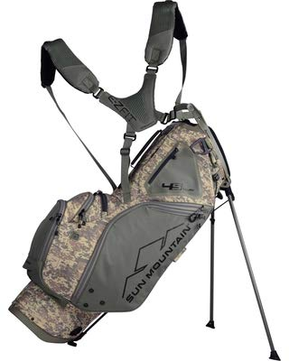 Sun Mountain Golf 2019 4.5 LS 14-Way Divided Stand Carry Bag Desert Camo Sand