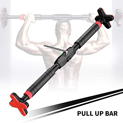 Pull Up Bar for Doorway Home Gym Exercise Workout Indoor Equipment Pull Up Bar with Level Meter, Fit 24inch to 40inch Door Frame,up to 440lbs