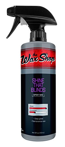 the Wax Shop 50962 Shine That Blinds Spray Wax-16oz