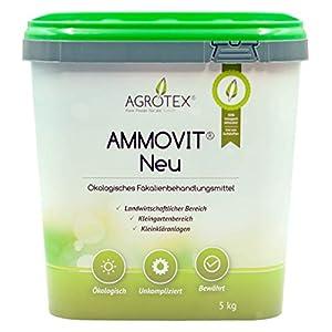 Agrotex Camping-Toiletten Sanitärzusatz Geruch Fäkalien Zusatz Ammovit Neu 5 kg