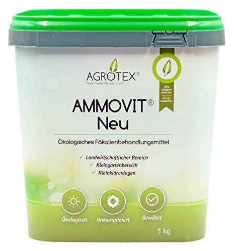 41llpMjWpTL Agrotex Camping-Toiletten Sanitärzusatz Geruch Fäkalien Zusatz Ammovit Neu 5 kg