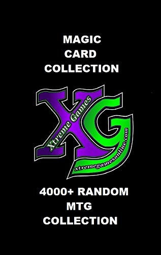4000+ Random Magic the Gathering Card Collection! MTG Bulk by xtremegamesonline - Collection Mtg