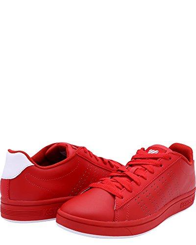 Sneakers Corte K-swiss Casper Rosse, 7.5 Rosse