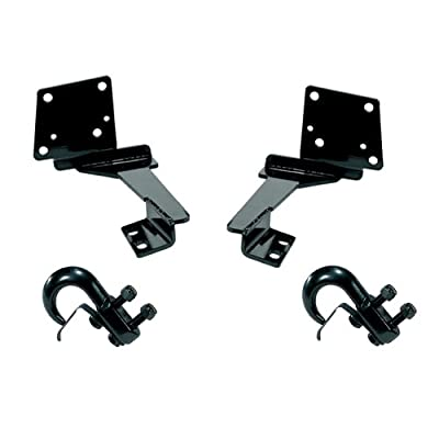 Rugged Ridge 11236.06 Black Front Tow Hook - Pair