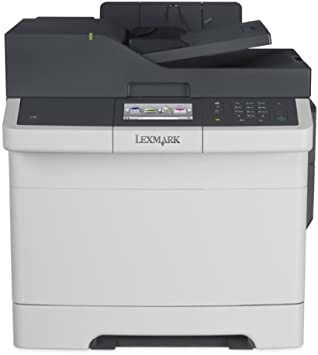 Lexmark CX417de Color All-In One Laser Printer with Scan Copy Network Ready Duplex Printing and Professional Features