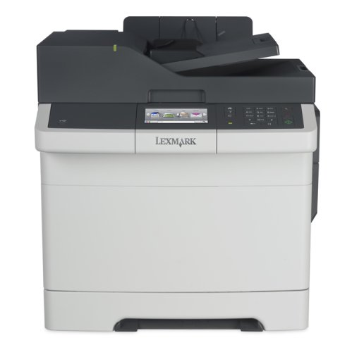 Lexmark CX417de Color All-In One Laser Printer with Scan, Copy, Network Ready, Duplex Printing and Professional Features