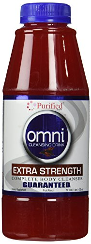 Omni Cleansing Drink Extra Strength - Heaven Sent Omni Cleansing Drink Fruit Punch, 16 Fluid Ounce