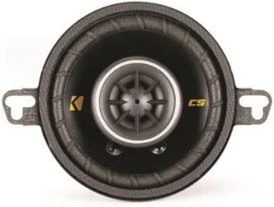 Par Kicker 40CS354 8,89 cm 3 - 1/2-inch 90 Watt 4 Ohm 2 way de conexión de Audio para altavoces CS354 de Kicker: Amazon.es: Electrónica