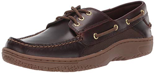 SPERRY Men's Billfish 3-Eye Boat Shoe, Amaretto, - Men Slip