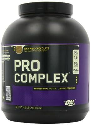 Optimum Nutrition Pro Complex, Rich Milk Chocolate, 4.6 Pound from Optimum Nutrition