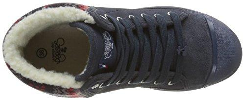 Le Temps des Cerises Damen Basic 03 Sneaker Blau (Snow)