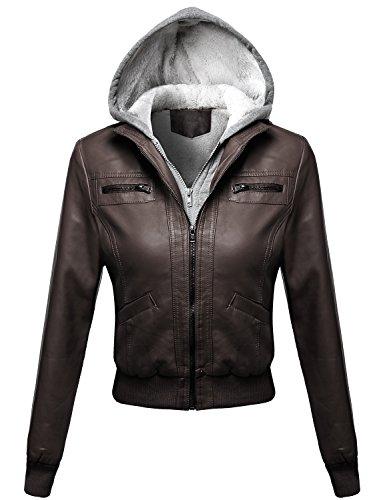 Fur Hood Flight Jacket - 1