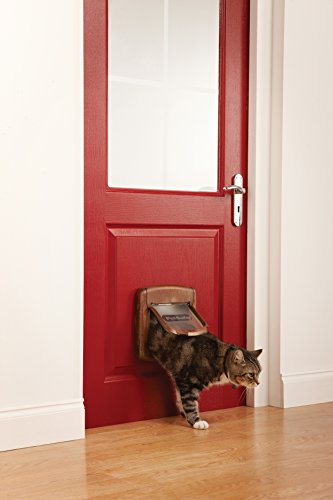 Karlie STAYWELL 420. Magnetic Cat Flap - wood finish by Karlie (Image #1)