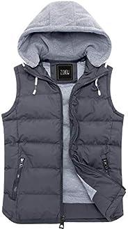 KLJR Men Winter Padded Body Warmer Puffer Vest Active Bodywarmer Gilet