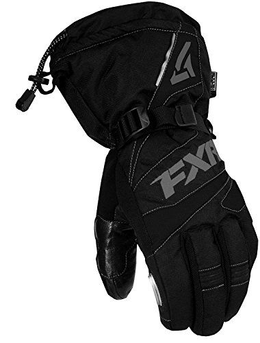 FXR - 2019 - Fuel Glove - (3X-Large, Black/Charcoal)