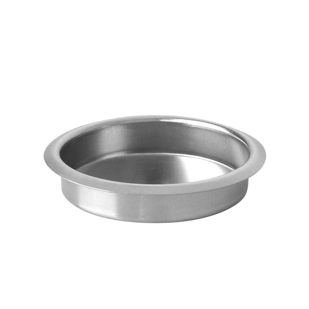 BESTONZON 58mm Metal Blind Filter Back Flush Insert Basket for Espresso Coffee Machine Maker