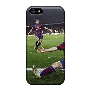 Iphone 5/5s Case Bumper Tpu Skin Cover For Sport Football Player Lionel Messi Accessories
