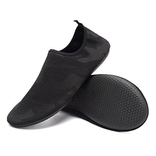 Walucan Lovers Indoor Yoga Sneaker Elastische En Comfortabele Waterschoenen, Lichtgewicht En Ademend Voor Trainingszwart