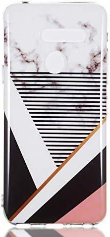 Tosim LG G8 / G8S ThinQ Hülle Flex Silikon, Handyhülle Stossfest Kratzfest Weich Schutzhülle Cover Soft Case für LG G8/G8S - TOYHU260917 T7