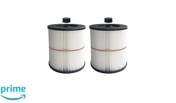 Cartridge Filter Wet Dry Shop Vac Vacuum 5 Gallon Pickup Dirt Debris Reusable 1