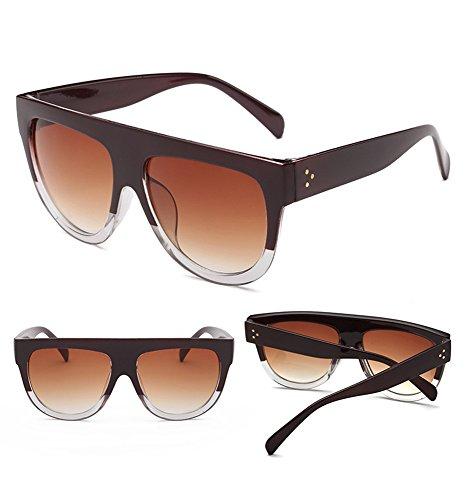 sol Frame y de de Moda Big Dama Americano Cara Europeo de de de Gafas B Sol D Redonda Sol Tendencia Estilo RFVBNM Gafas Gafas SEHq7Inz
