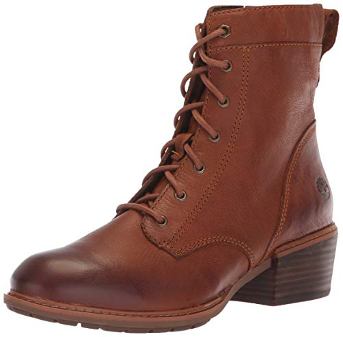 Timberland Women's Sutherlin Bay Mid Lace Boot Boot, Medium Brown, 070M M US