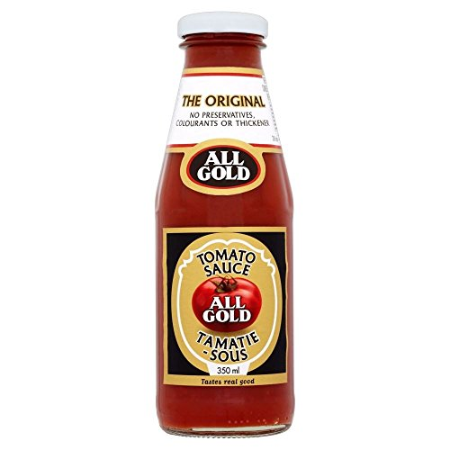 All Gold Tomato Sauce (350ml) - Pack of 2 (All Gold Tomato Sauce)
