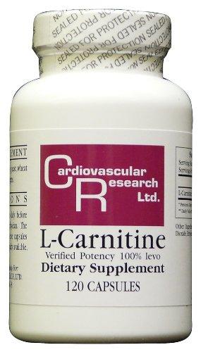 Cardiovascular Research - L-Carnitine, 250 mg, 120 gélules