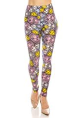 These super soft, comfortable, and flattering leggings are designed to be stylish and versatile. They are the perfect leggings for everyday casual to completing dressier outfits. Check out our wide range of fashionable colors and print...