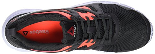 Reebok Run Supreme 2.0 - Zapatillas de running unisex Negro / Rojo / Gris / Blanco (Coal/Atomic Red/Ash Grey/White)