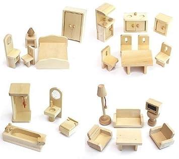 dolls furniture set. VDP Freda Furniture Set Doll House For Dollhouse Wood 28 Pieces Dolls T