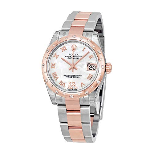Rolex Datejust Lady 31 Mother of Pearl Steel and 18kt Rose Gold Ladies Watch 178341MRDO
