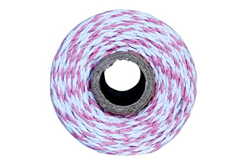 Thick 12 Ply 100 Yard Bakers Twine (Light Pink) (Light Pink Bakers Twine)