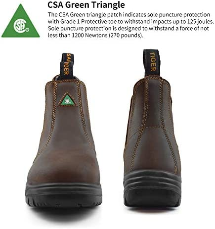 CSA Leather Work Safety Boots - 925