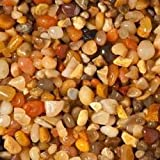Carib Sea ACS05847 Gemstone Creek Gravel for Aquarium, 5-Pound