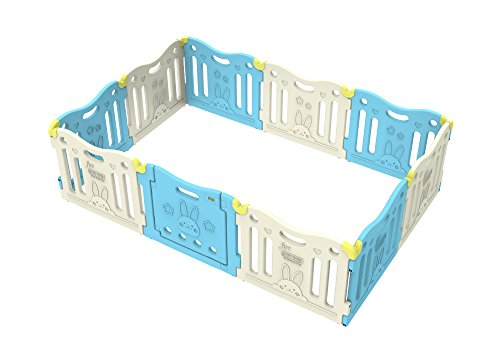 Baby Care Play Mat Playpen (SkyBlue)