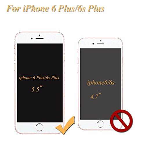 Housse iPhone 6 PLUS/6S PLUS OuDu Étui en Silicone Coque Transparente Flexible Mince **NEW** Étui TPU de Haute Qualité Housse Souple de Protection Coque Lisse Poids Léger Étui Ultra Mince Ultra Durabl
