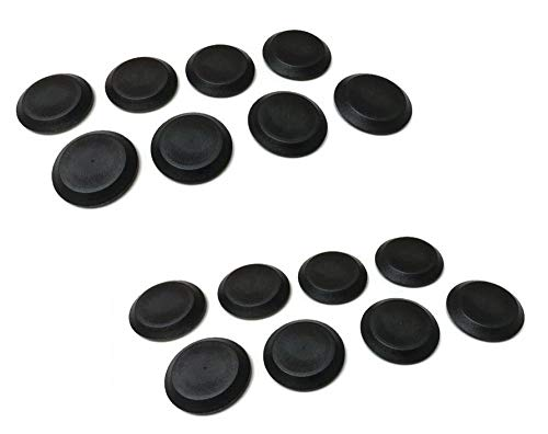 - (16) Body Floor Pan Drain Plugs 1987-1995 Jeep Wrangler YJ - All Trim Levels