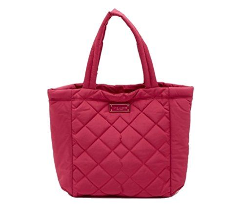 Quilted Tote Bag Nylon - Marc Jacobs Quilted Nylon Tote Bag, Begonia