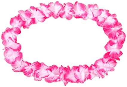 Hawaiiketten Hawaii Hula Kette Hawaiikette Blumenketten Hawai Blumen 01 12 Stk