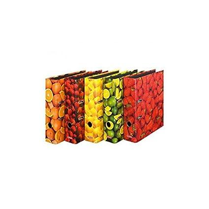 7 cm breit aus stabilem Karton mit hochwertigem Innendruck Briefordner HERMA 7102 Motiv-Ordner DIN A4 Fr/üchte 10er Set 10 Ordner Ringordner Aktenordner