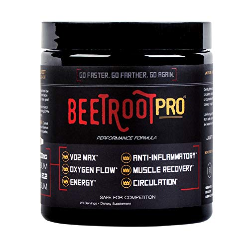 Beetroot Pro #1 Comprehensive Organic Juice Powder, for Triathletes | Runners | Cyclists | Nitrate Rich for Endurance Strength, Boost Energy, VO2 Max, Optimize Oxygen Circulation