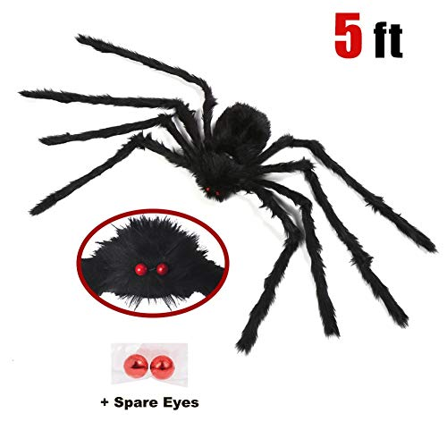 Decorating Your Garage For A Halloween Party (yosager Outdoor Halloween Decorations, Big Scary Spider House Party Yard Decoration,)