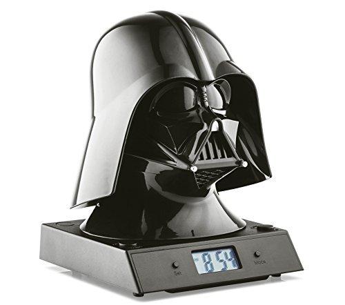Joy Toy - Star Wars Projecting Alarm Clock with Sound Darth Vader
