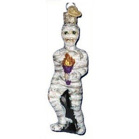 MUMMY Halloween Ornament Old World