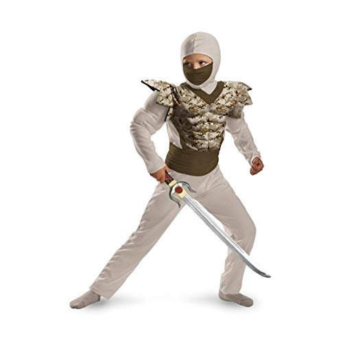 Desert Camo Classic Muscle Ninja Child Costume
