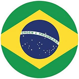 """Bad Ass Brazilian Funny Warning Bumper Stickers 6/"""" x 3/"""" Decals"""