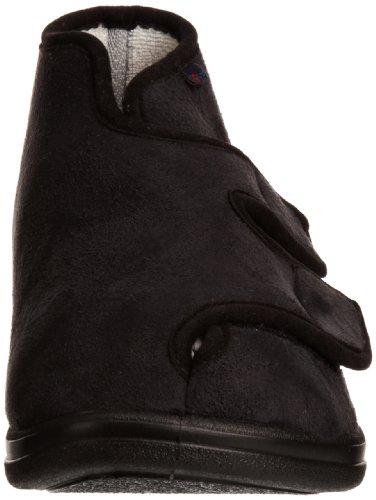 Rohde 3556 - Zapatillas de casa de material sintético unisex negro - negro