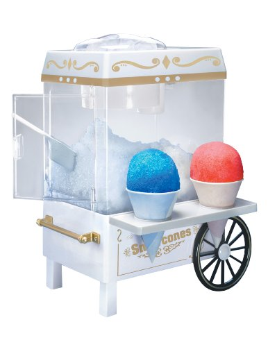 Nostalgia SCM502 Vintage Snow Cone Maker (Ice Shaver Machine)