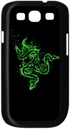 logotipo de Razer 2a5251 negro a40led diseño trasero caja del teléfono Funda 9300 caso funda de teléfono celular funda samsung Galaxy S3: Amazon.es: Electrónica